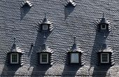 stock photo of gabled dormer window  - Dormer window at Palace of Vollrads in the Rheingau Hesse Germany - JPG