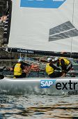 Sap Extreme Sailing Team Compete In The Extreme Sailing Series