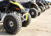 stock photo of four-wheelers  - An All - JPG