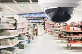 Cctv Surveillance Security Camera Transmit A Video And Audio Signal To A Wireless Receiver Through A poster