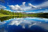picture of siberia  - Beautiful lake in Altai mountains - JPG
