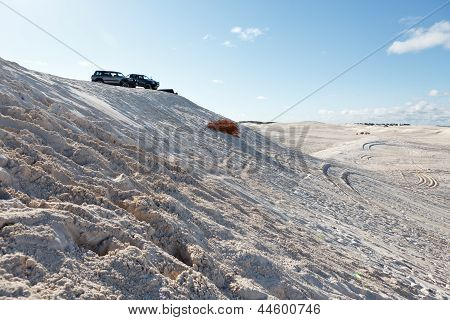 Offroud Driving In Dunes