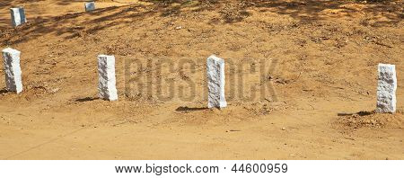 Corner Edging Stones At Auroville