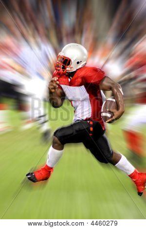 Football Running Play
