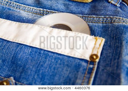 Jeans And Compact Disk