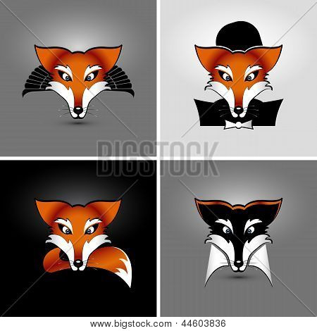 Four Foxes