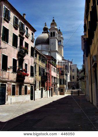 Venice's Charming Side Street