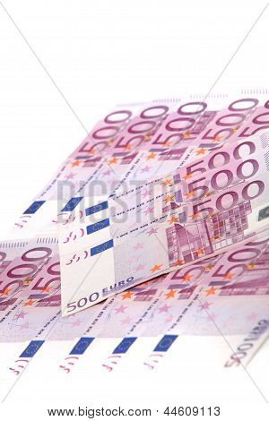 Array Of Euro Notes