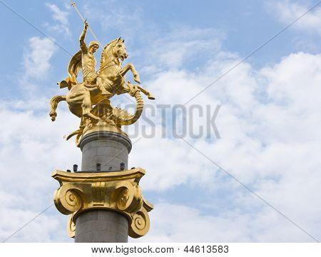 St George Statue