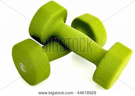 Green Hand Weights