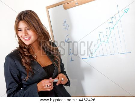 Business Woman Presentation