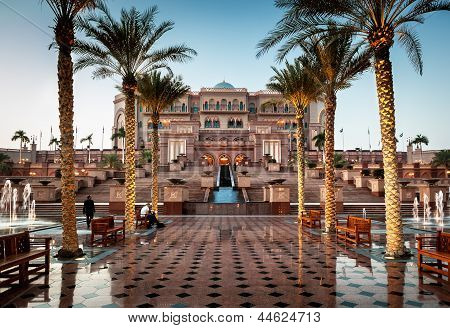 Palácio de Abu dhabi