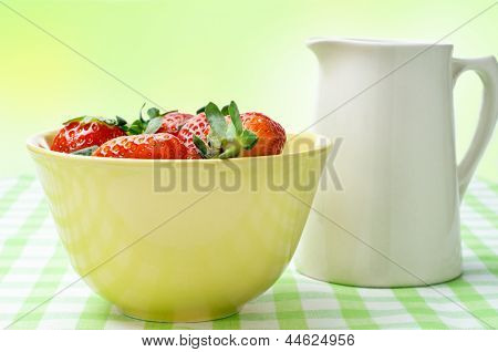 Strawberries And Cream Jug