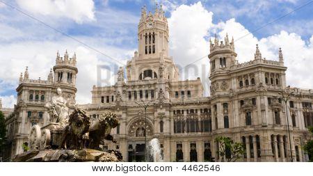 Cibeles Statue In Madrid