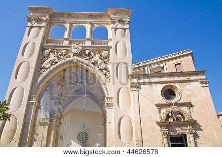 Sedile Palace. Lecce. Puglia. Italy.