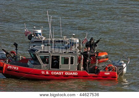 US Coast Guard on Guard