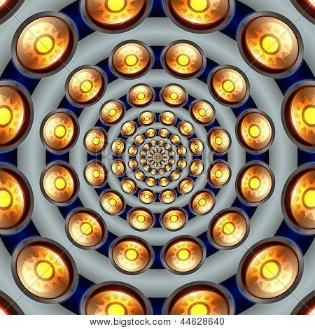 Sun Button Tunnel