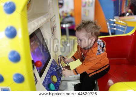 Toddler And Amusement Machine