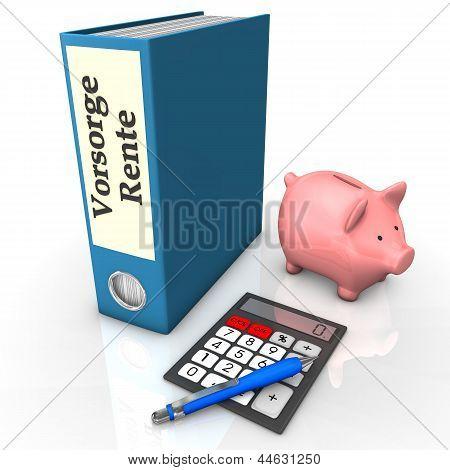 Folder Insurance Pension