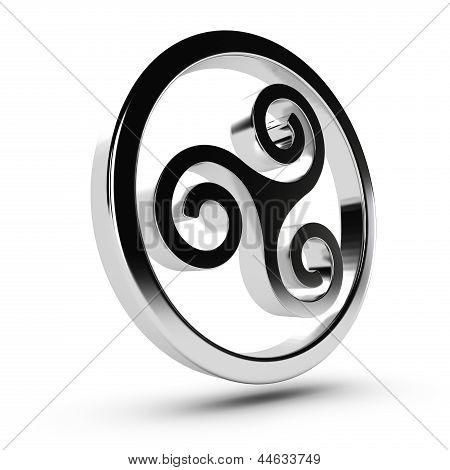 Triskelion celta