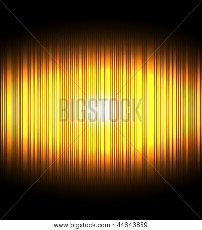 golden twinkle abstract background