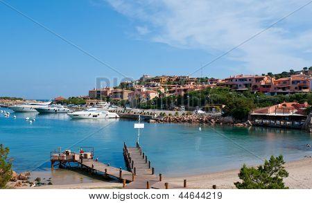 The Marina Of Porto Cervo