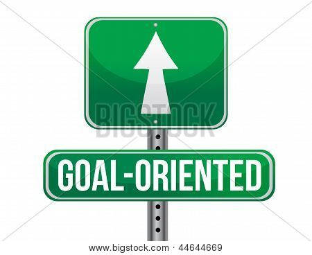 Goal-oriented Road Sign Illustration Design