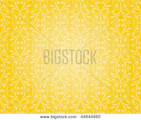 Orange & Yellow Wallpaper Background Design