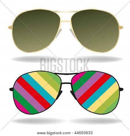 gafas de sol vector illustration