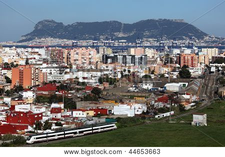 View Of Algeciras, Spain