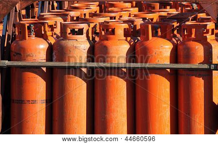 Big Propane Gas Bottles