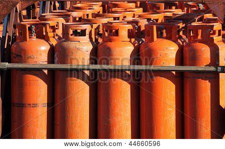 Große Propan-Gasflasche