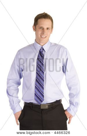 Happy Businessman