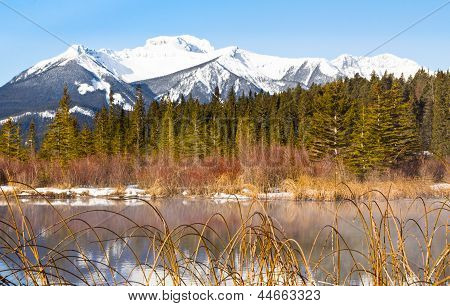Sundance Mountains And Lake Vermilion
