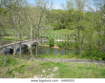 Burnside's Bridge At Antietam Battlefield