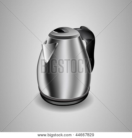Illustration Of An Electric Kettle