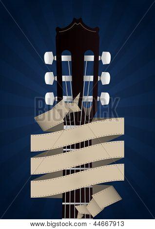 Headstock Guitar