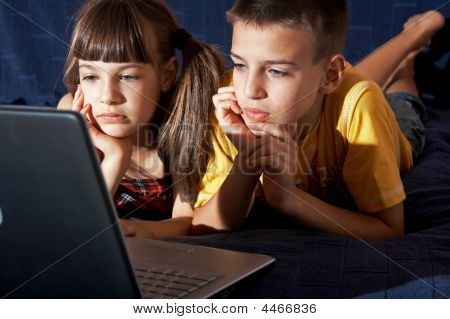 Children In Computer