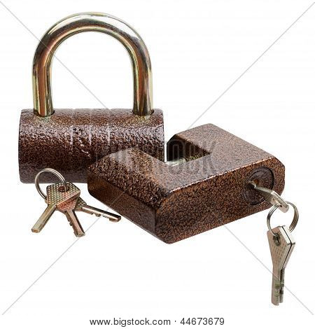 Two Locks And Keys
