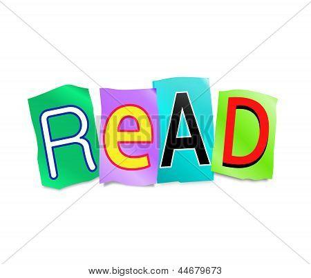 Conceito de leitura.