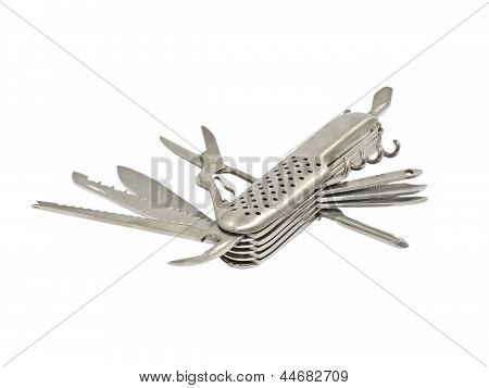 Swiss Knife.isolated.