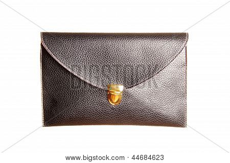 Female Black Clutch Bag