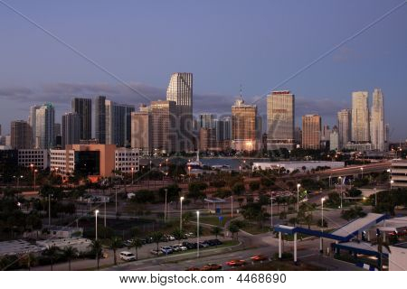 Downtown Miami Early Morning