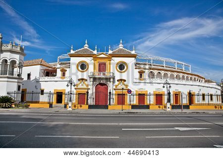 Real Maestranza de Caballeria de Sevilla in Seville, Andalusia,  Spain