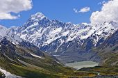 picture of hooker  - Mt Cook - JPG