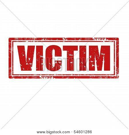 Victim-stamp