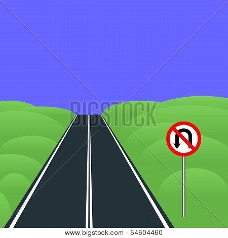 No U-turns