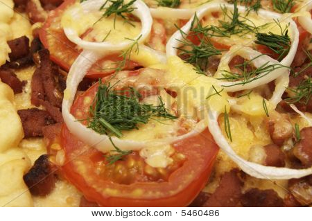 Pizza Close View