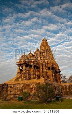 Kandariya Mahadeva Temple, Dedicated To Shiva, Western Temples Of Khajuraho, UNESCO site.