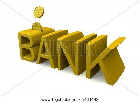 Banking And Saving Concept